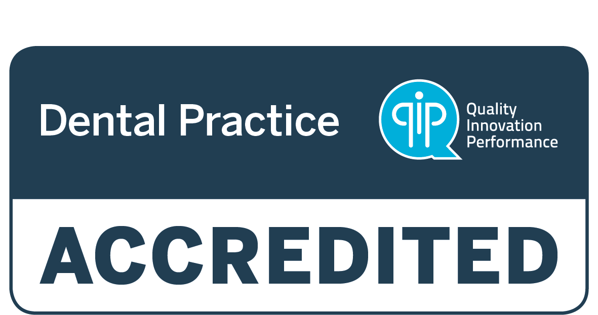 QIP Accreditation Logo | Dentistry Plus is proud to be a QIP accredited dental practice. QIP is a scheme developed collaboratively by the Australian Dental Association (ADA Inc.) and QIP (Quality Innovation Performance) to reward private dental clinics for their commitment to continuous quality improvement.